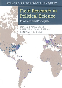 cover of field research in political science